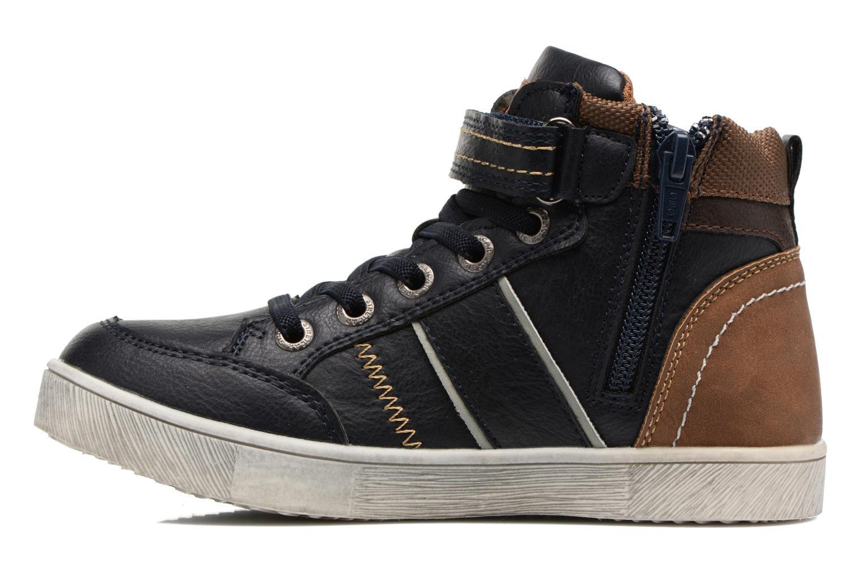 Sneaker Xti 55171 blau ansicht von vorne