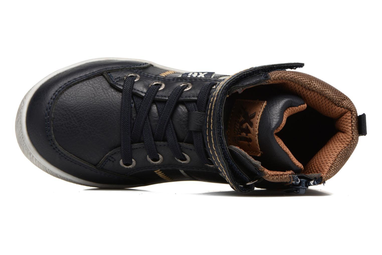 Sneaker Xti 55171 blau ansicht von links