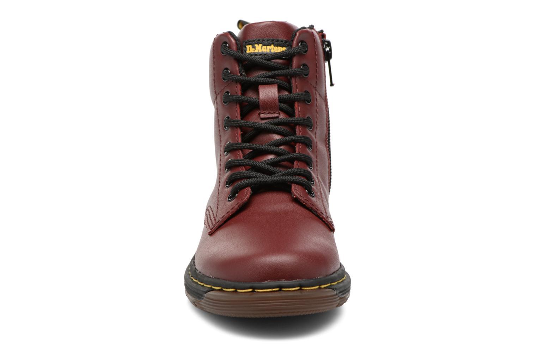 Bottines et boots Dr. Martens Malky J Bordeaux vue portées chaussures