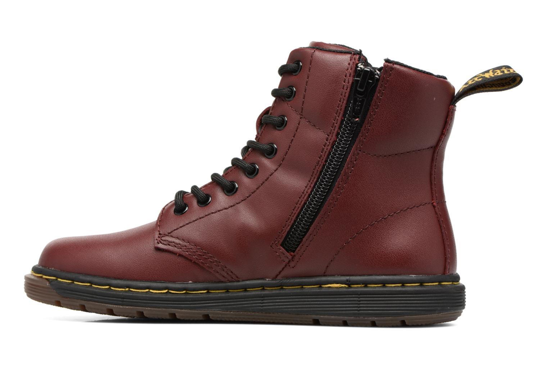 Bottines et boots Dr. Martens Malky J Bordeaux vue face