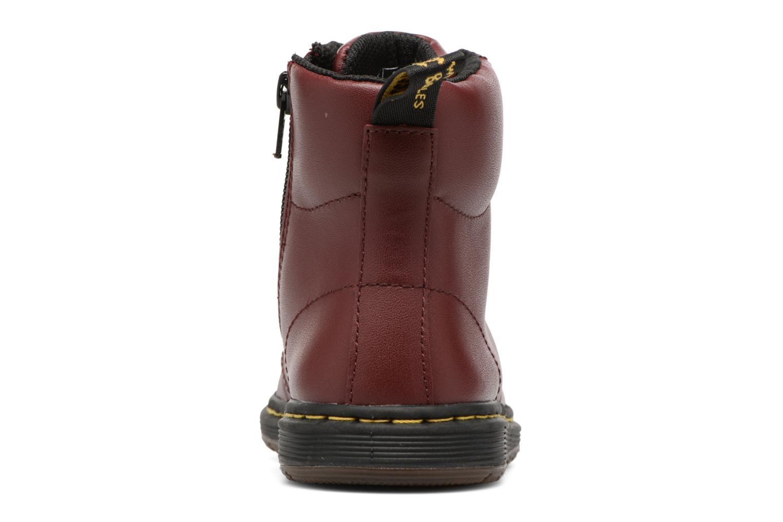 Bottines et boots Dr. Martens Malky J Bordeaux vue droite