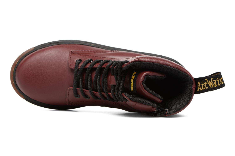 Bottines et boots Dr. Martens Malky J Bordeaux vue gauche