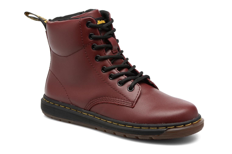 Bottines et boots Dr. Martens Malky J Bordeaux vue détail/paire