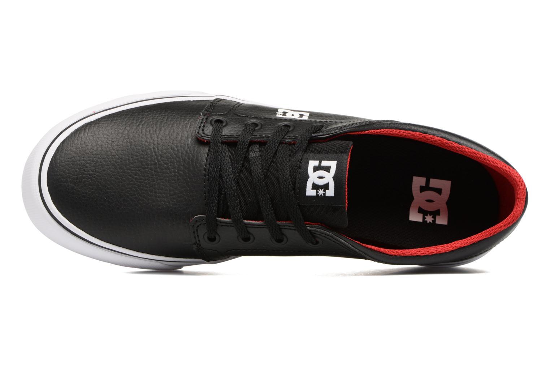Baskets DC Shoes Trase M Noir vue gauche