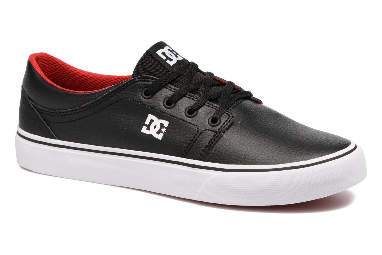 Baskets DC Shoes Trase M Noir vue détail/paire