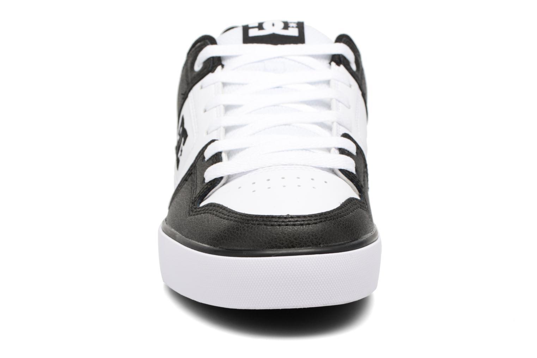 Baskets DC Shoes Pure M Blanc vue portées chaussures