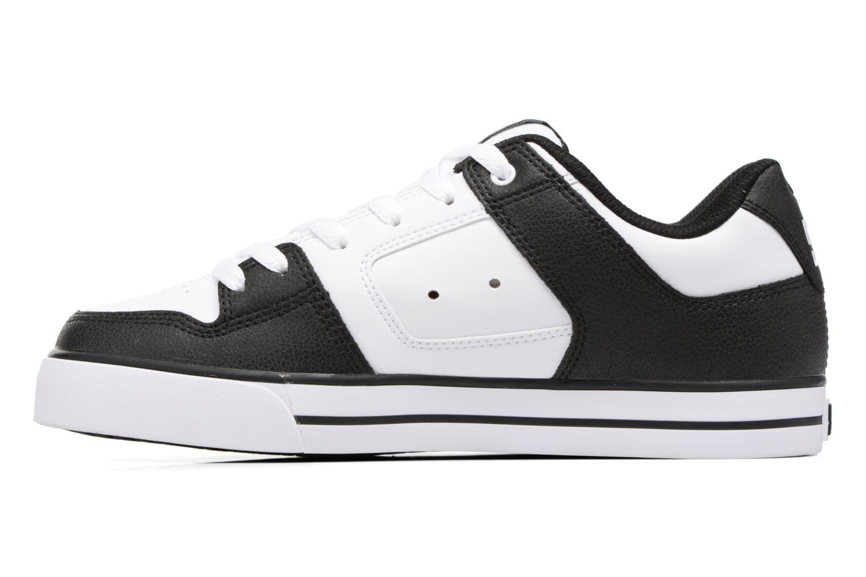 Baskets DC Shoes Pure M Blanc vue face