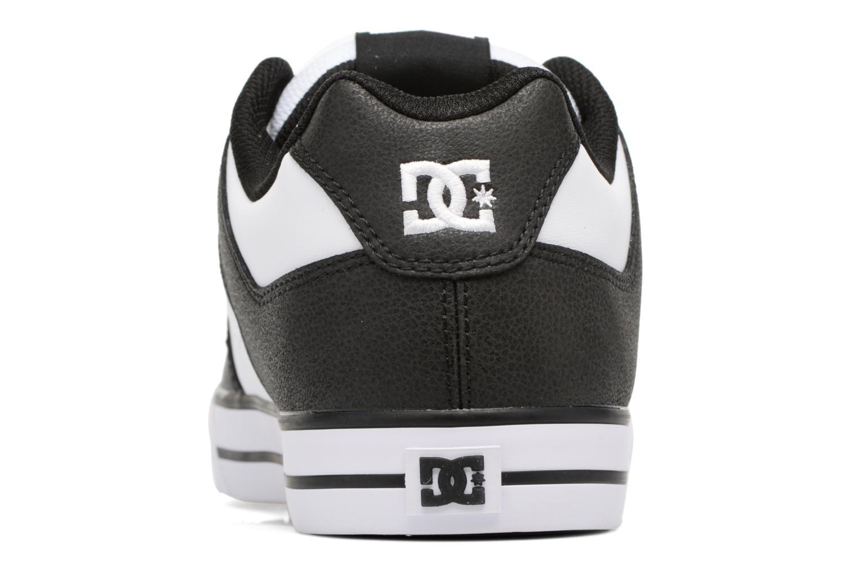 Baskets DC Shoes Pure M Blanc vue droite