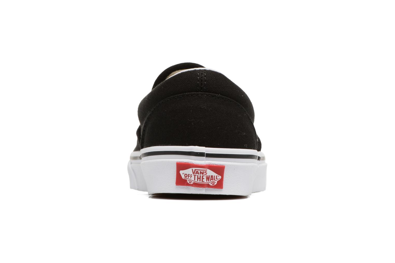 Sneakers Vans Classic Slip-On W x Peanuts Zwart rechts