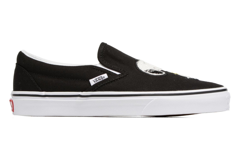 Sneakers Vans Classic Slip-On W x Peanuts Zwart achterkant