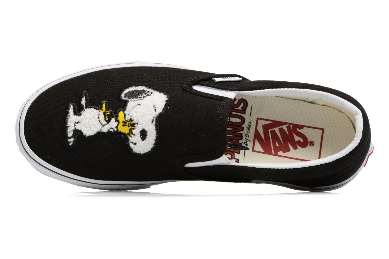 Sneakers Vans Classic Slip-On W x Peanuts Zwart links