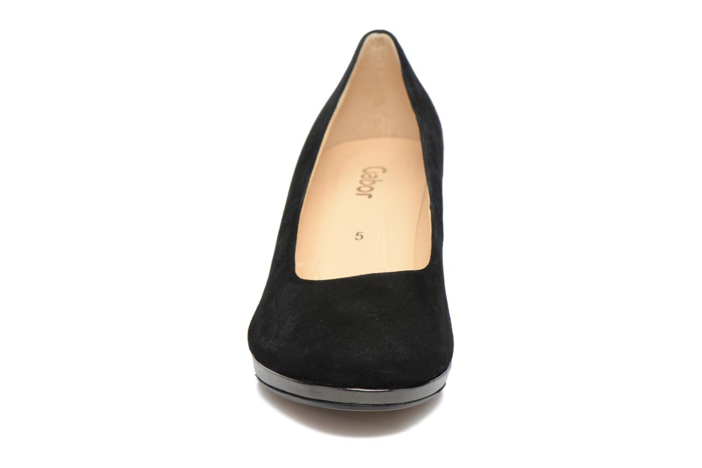Escarpins Gabor Jeanna Noir vue portées chaussures