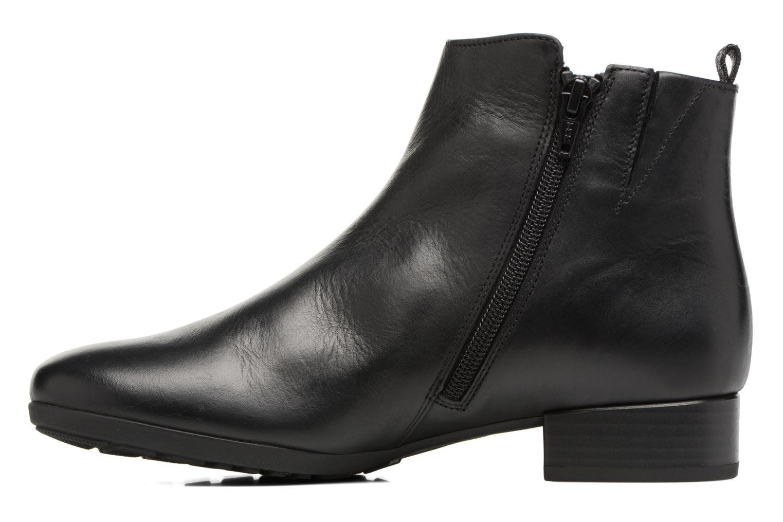 Bottines et boots Gabor Paola Noir vue face