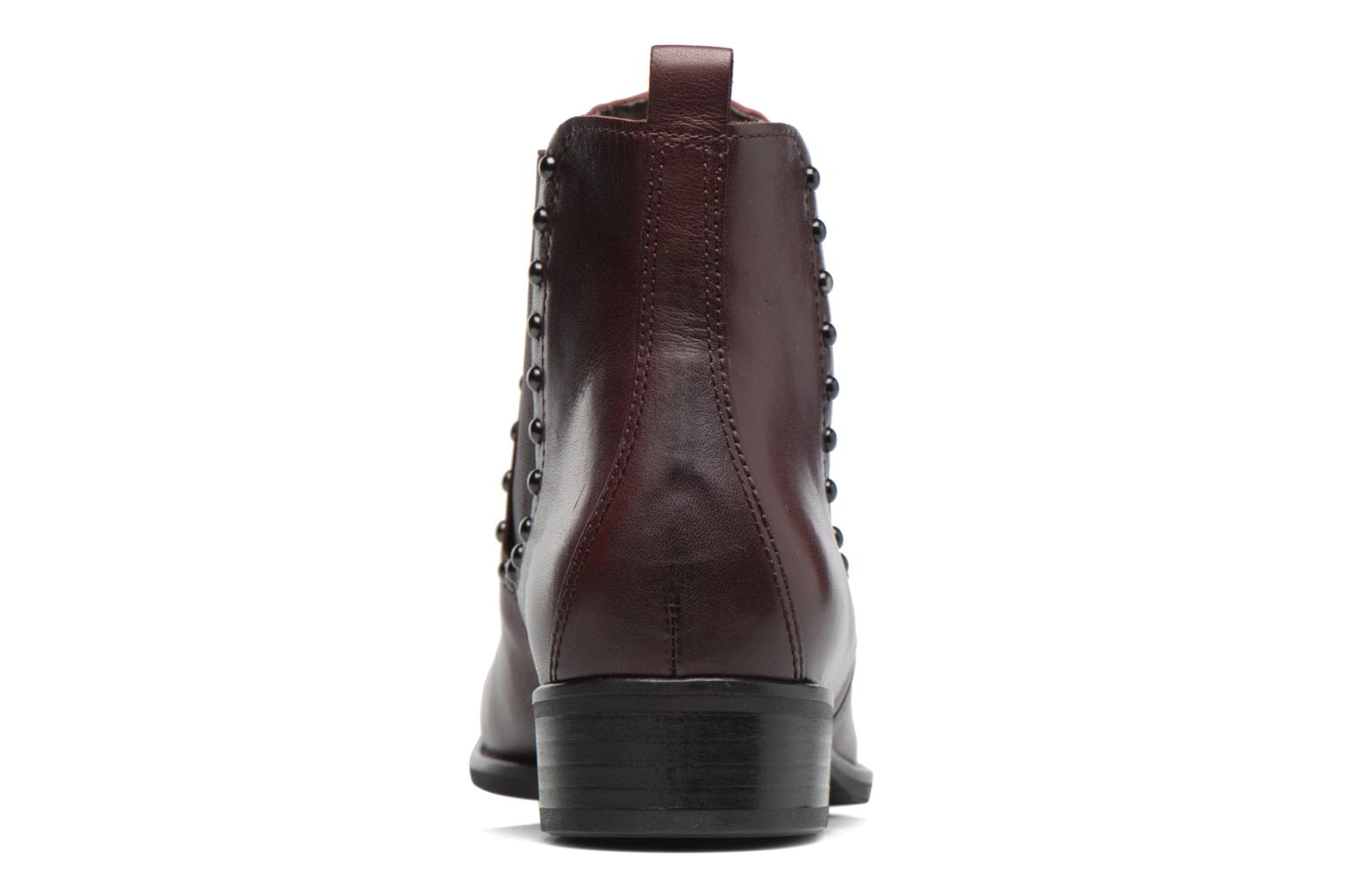 Ankle boots Gabor Angy Burgundy view from the right