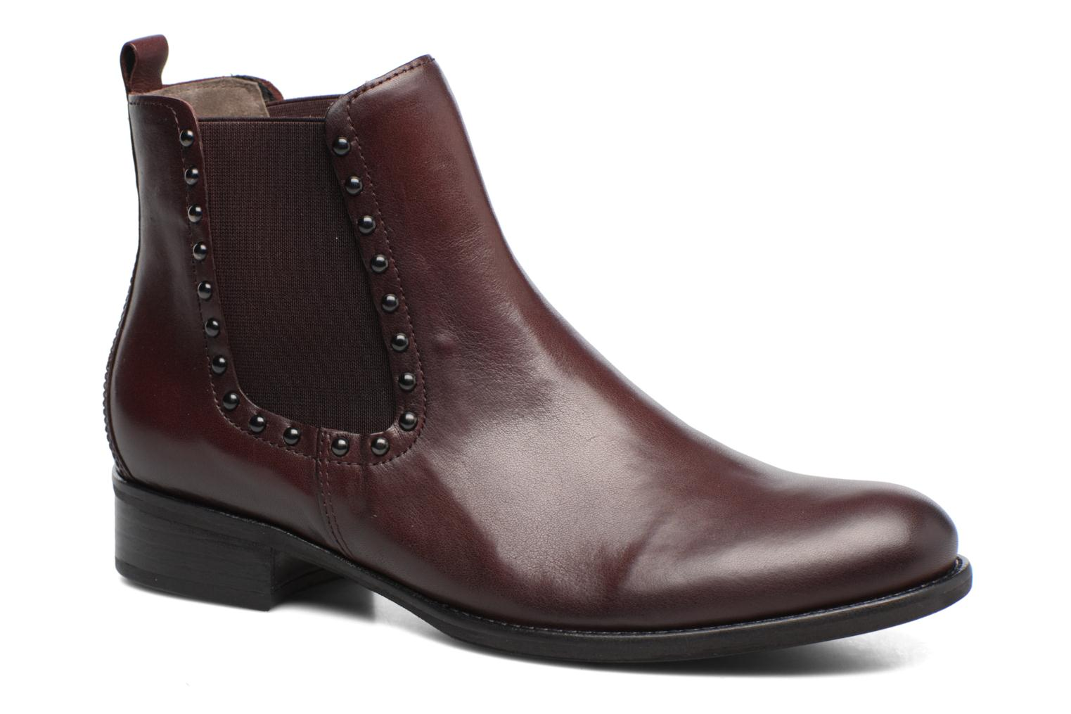 Ankle boots Gabor Angy Burgundy detailed view/ Pair view
