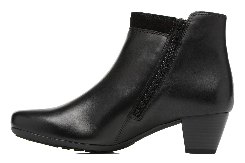 Bottines et boots Gabor Jule Noir vue face