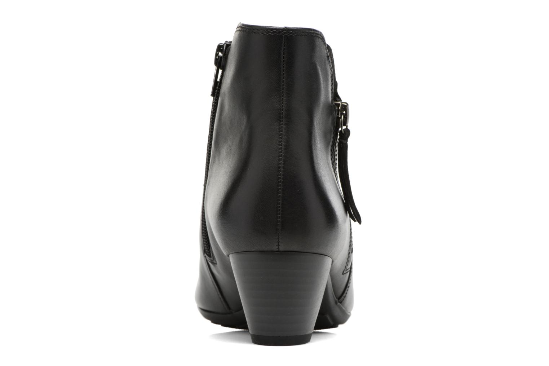 Bottines et boots Gabor Jule Noir vue droite