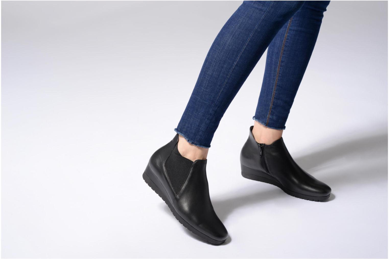 Boots en enkellaarsjes Gabor Katharina Zwart onder
