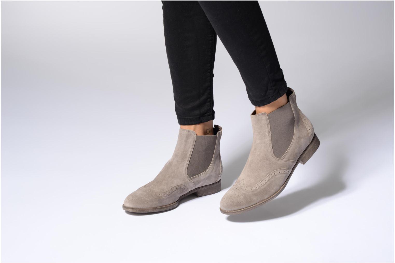 Stiefeletten & Boots Gabor Emilia beige ansicht von unten / tasche getragen