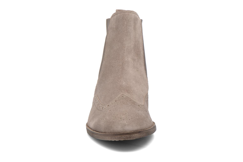 Stiefeletten & Boots Gabor Emilia beige schuhe getragen