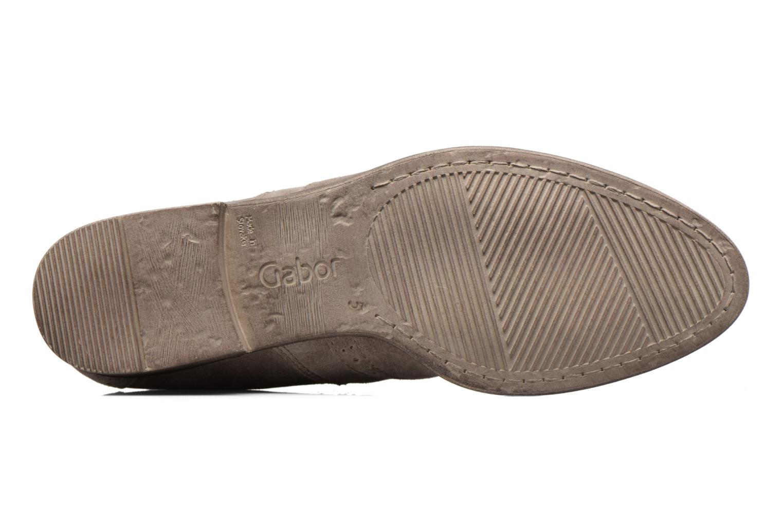 Bottines et boots Gabor Emilia Beige vue haut
