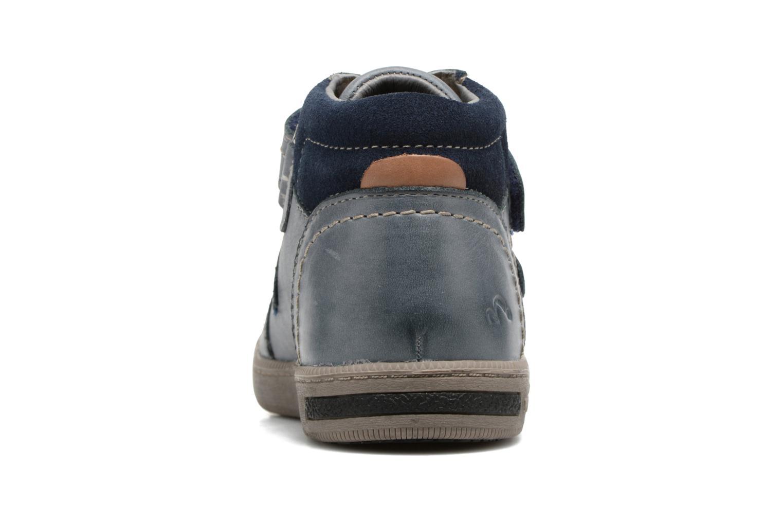 Sneakers Noël Yuan ST Azzurro immagine destra