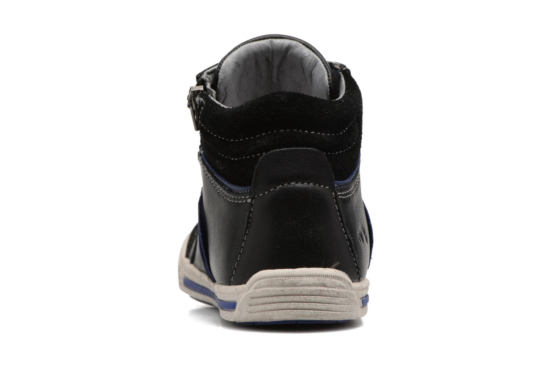 Sneaker Noël Ruben schwarz ansicht von rechts