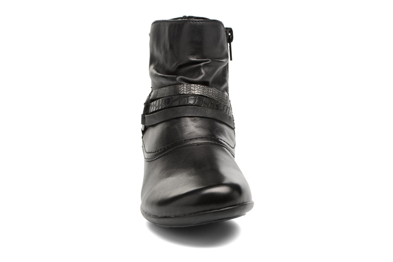 Botines  Remonte Dona D7365 Negro vista del modelo
