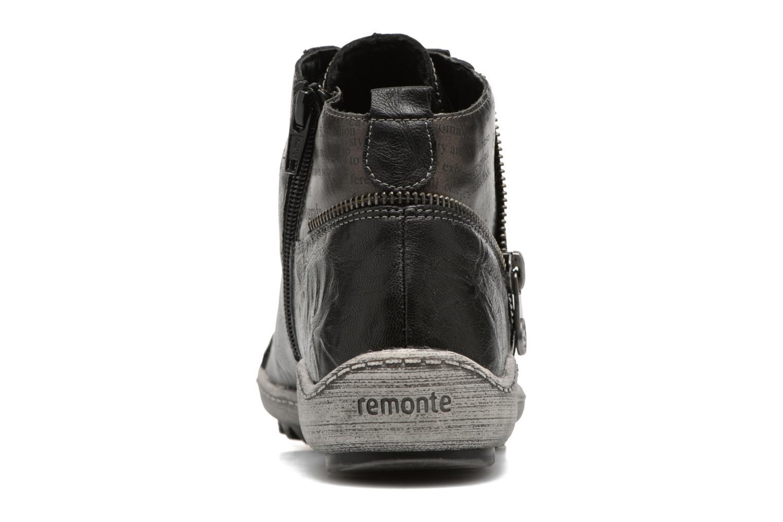 Baskets Remonte Gaya R1472 Noir vue droite