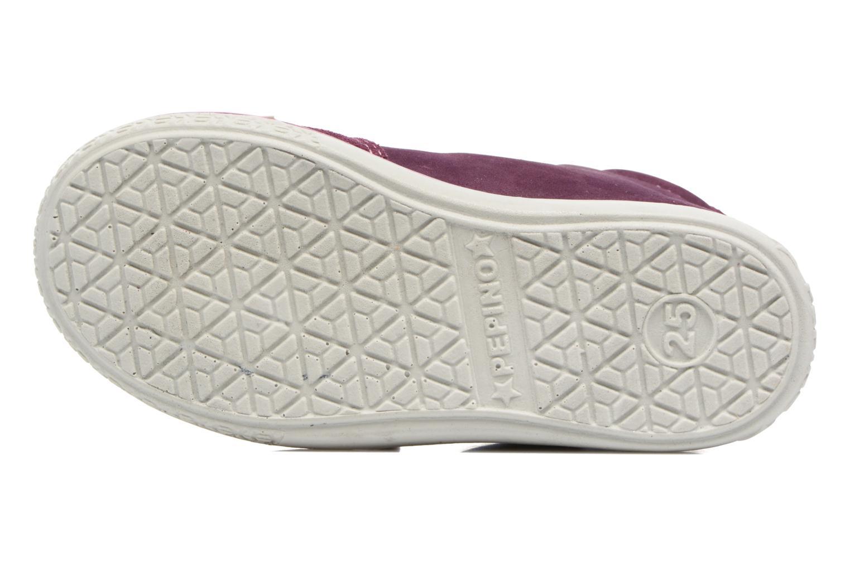 Baskets PEPINO Lara Violet vue haut