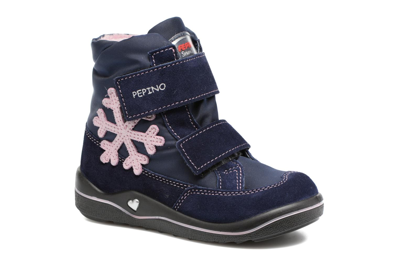 Bottines et boots PEPINO Hildi Bleu vue détail/paire