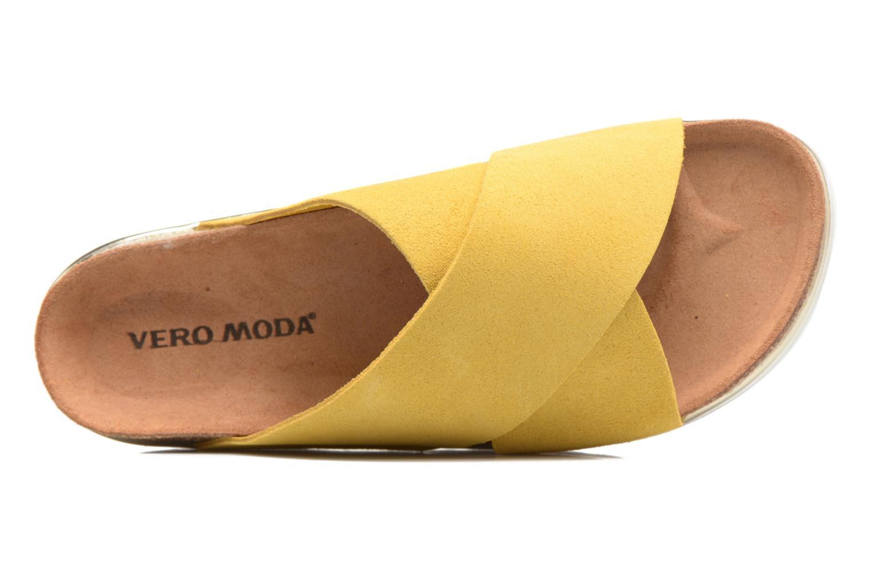 Lisa Leather Sandal Celery