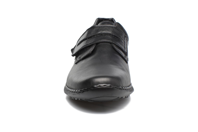 Chaussures à scratch Rieker Pio 04758 Noir vue portées chaussures