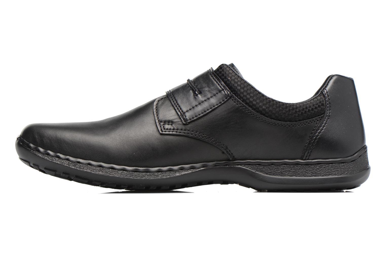 Chaussures à scratch Rieker Pio 04758 Noir vue face