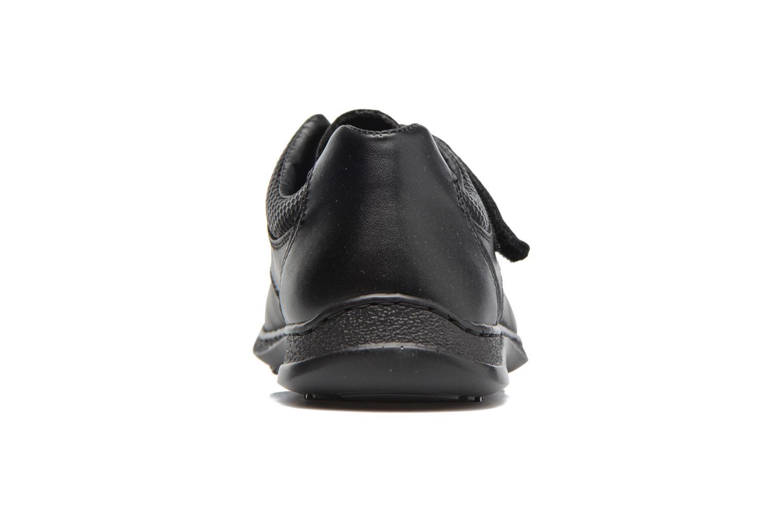 Chaussures à scratch Rieker Pio 04758 Noir vue droite