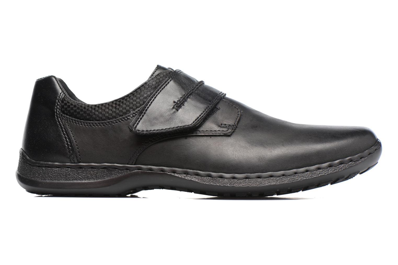 Chaussures à scratch Rieker Pio 04758 Noir vue derrière