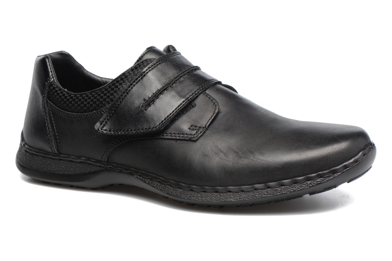 Chaussures à scratch Rieker Pio 04758 Noir vue détail/paire