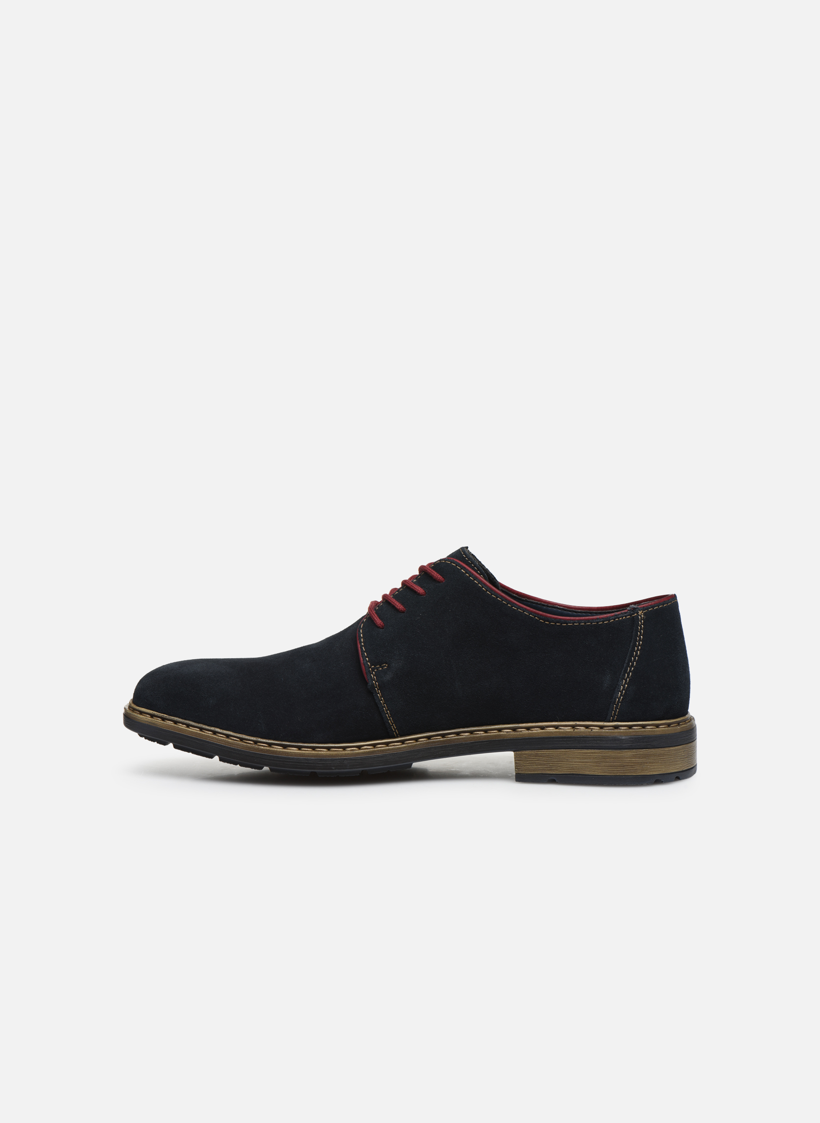 Chaussures à lacets Rieker Albert B1222 Bleu vue face