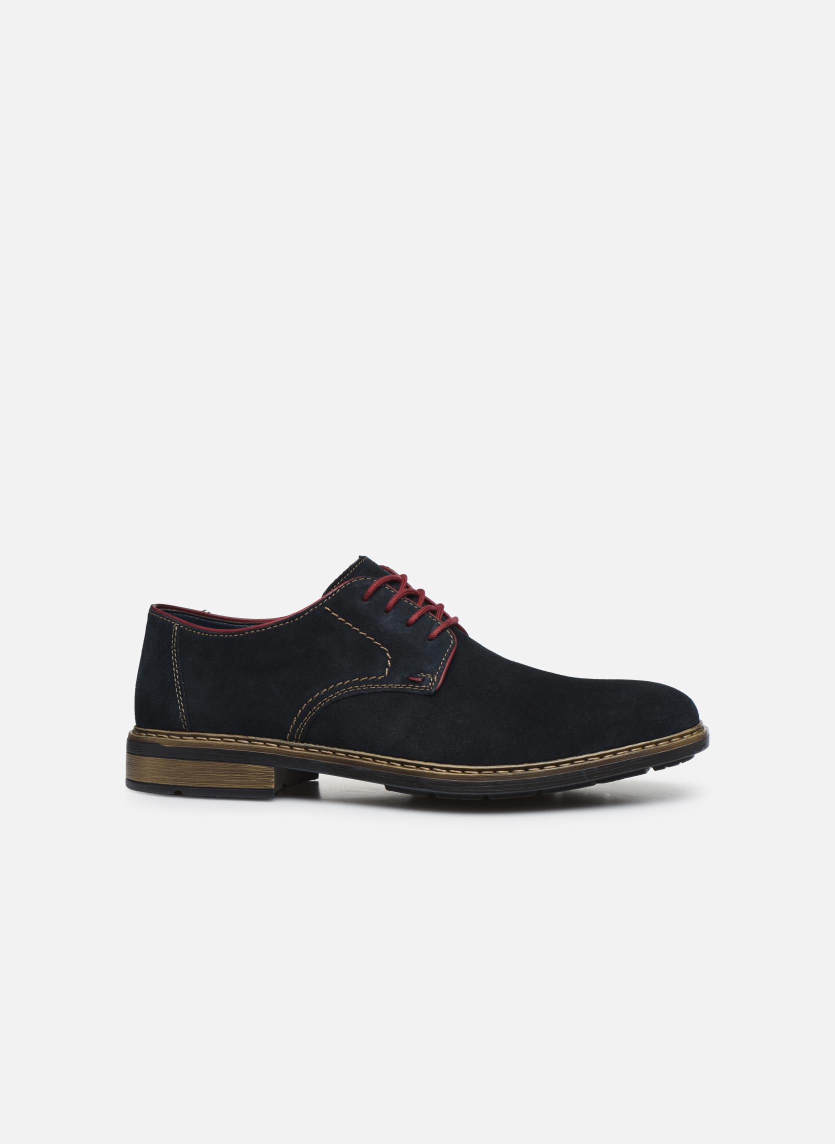 Chaussures à lacets Rieker Albert B1222 Bleu vue derrière