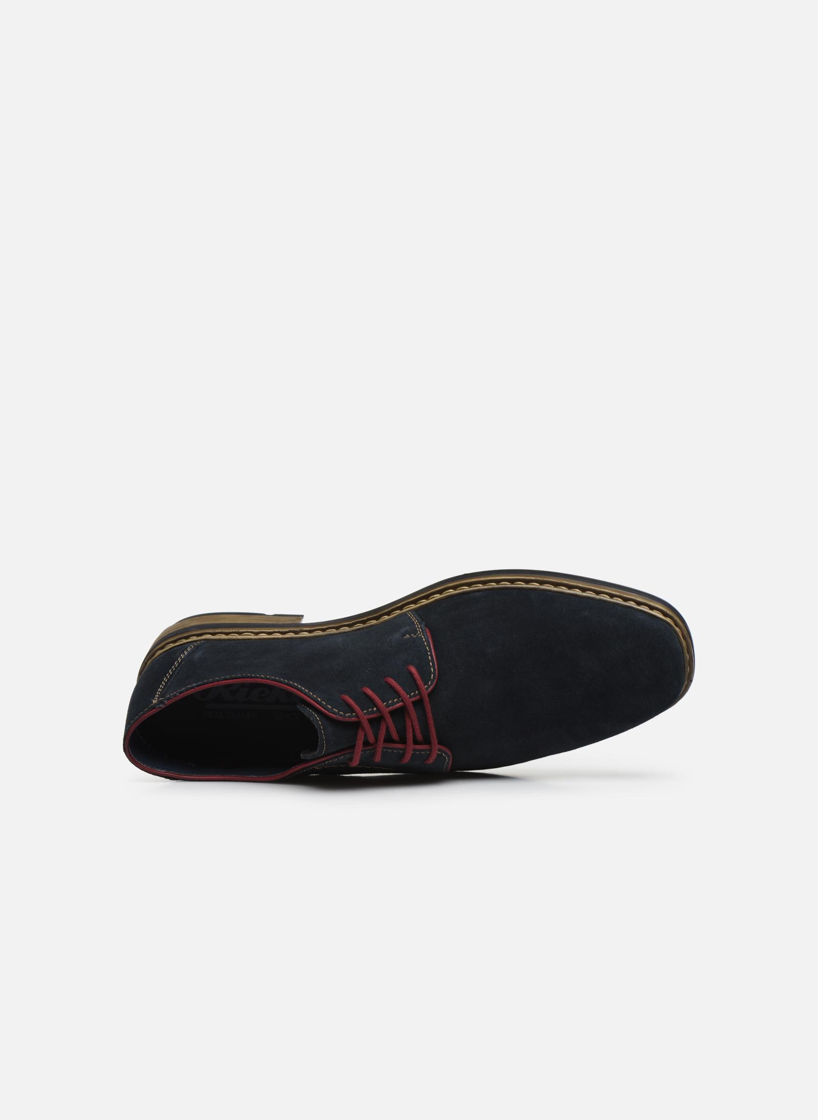 Chaussures à lacets Rieker Albert B1222 Bleu vue gauche
