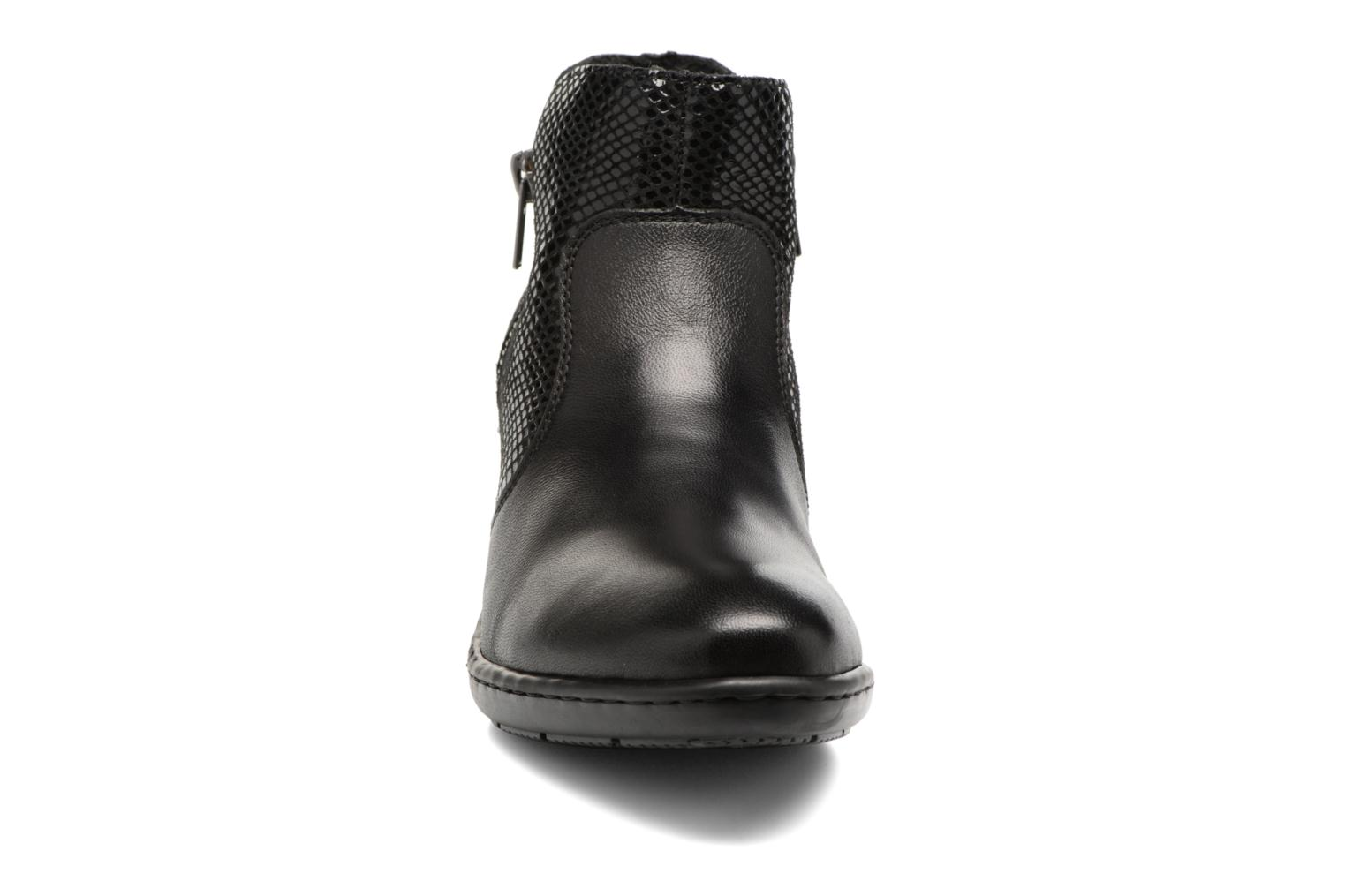 Ankle boots Rieker Anya 50288 Black model view