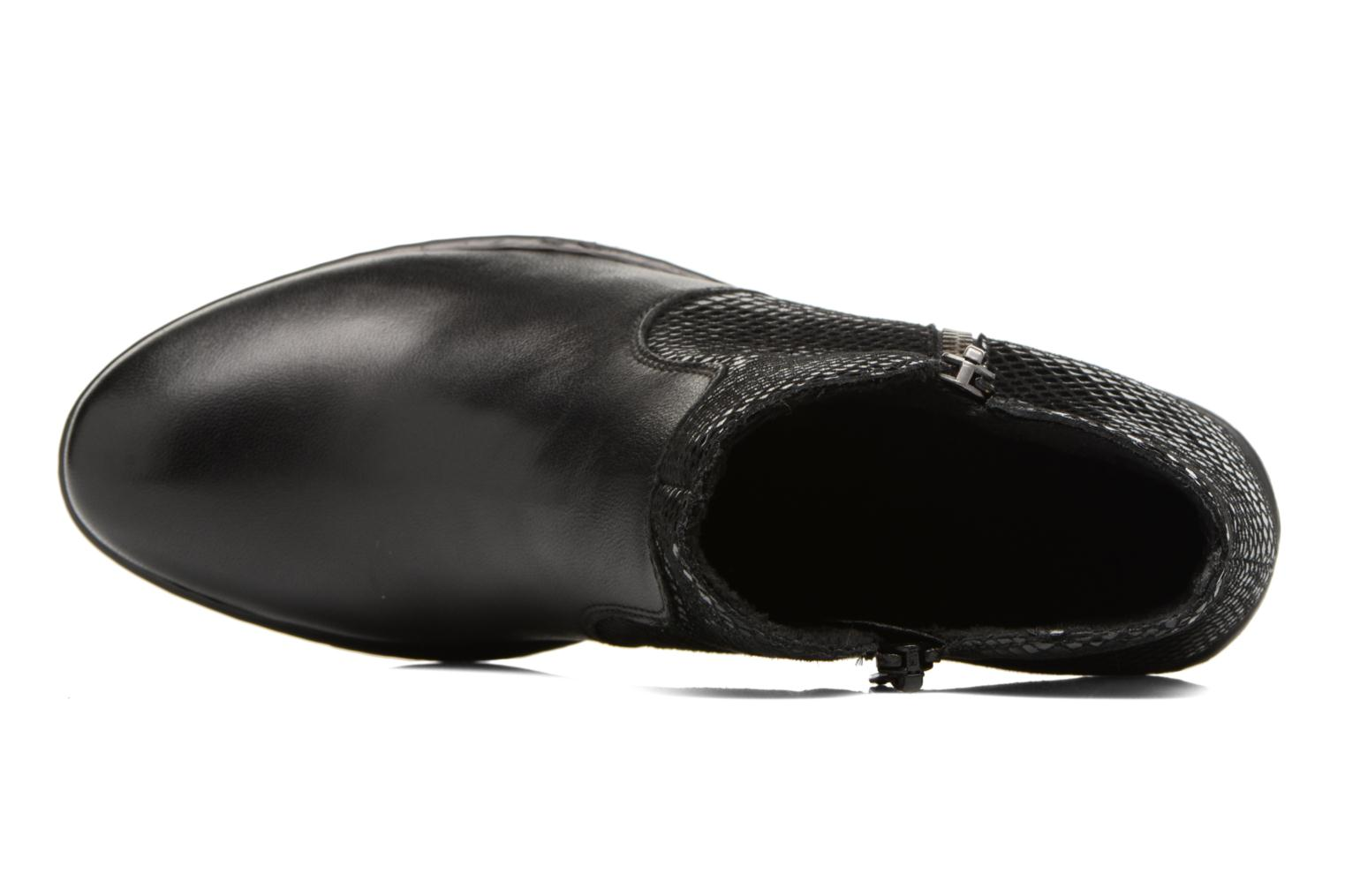 Ankle boots Rieker Anya 50288 Black view from the left