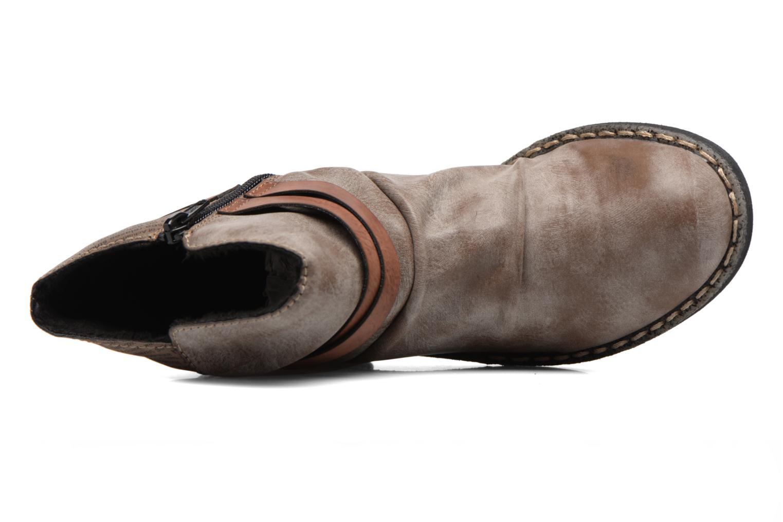 Bottines et boots Rieker Blair 746K0 Beige vue gauche