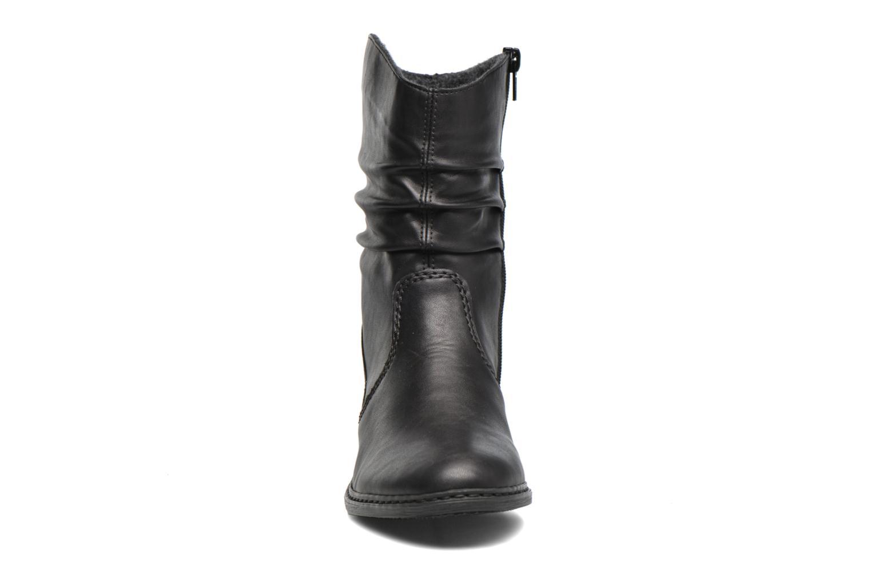 Bottes Rieker Nine 75573 Noir vue portées chaussures