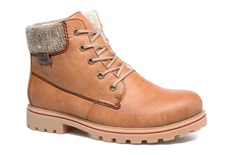 Rieker Valia Z1420 (Marron) - Bottines et boots chez Sarenza (304488)