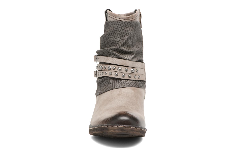 Bottines et boots Rieker Flo K1493 Gris vue portées chaussures