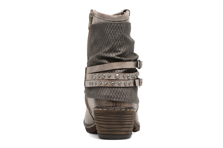 Bottines et boots Rieker Flo K1493 Gris vue droite