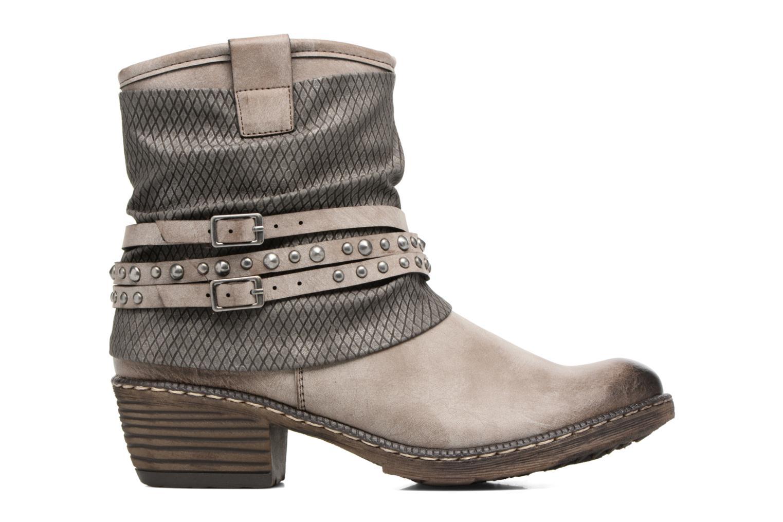 Bottines et boots Rieker Flo K1493 Gris vue derrière