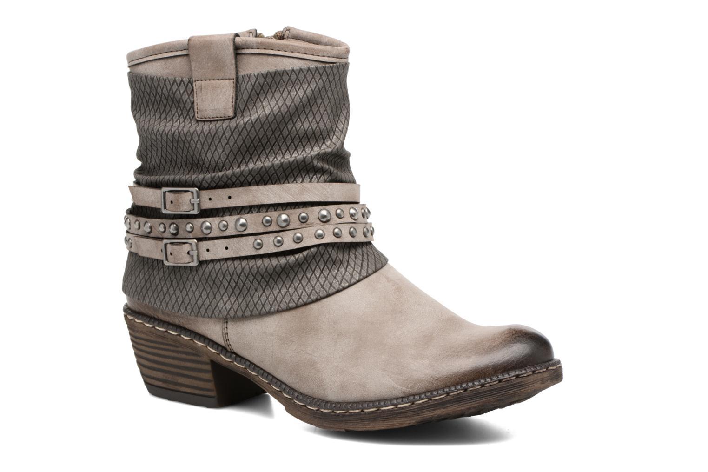Bottines et boots Rieker Flo K1493 Gris vue détail/paire