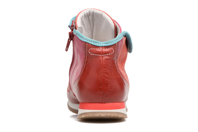 Baskets Pataugas IESTA/MC Rouge vue droite